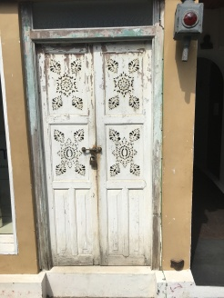 Galle Fort door